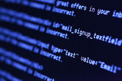 HTML codes Royalty Free Stock Image