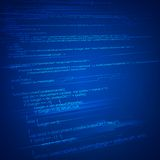 HTML Coding Background Royalty Free Stock Photos