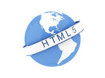 HTML 5 Concept Royalty Free Stock Photography