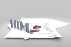 HTML5 Stock Foto