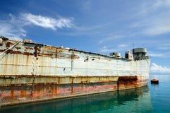 712 HTMS Chang ex USS Lincoln County LST-898, isla de Koh Chang, Tailandia fotografía de archivo