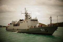 HTMS Pattani Photo stock