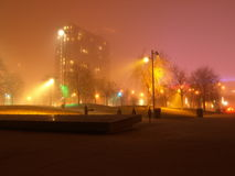 HTO Park, Toronto At Night Stock Photos
