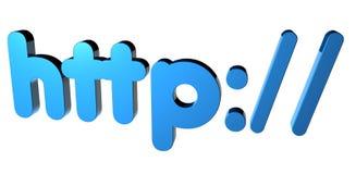 HTTP: / stock illustratie