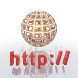 HTTP Στοκ Εικόνες