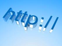 HTTP 3 ilustração do vetor