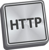 HTTP Button Stock Image