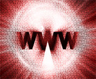 HTTP en www theme002 Stock Foto