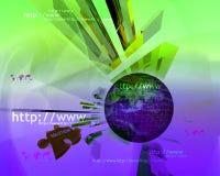 HTTP en www theme006 Royalty-vrije Stock Afbeelding