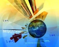 HTTP en www theme007 Stock Foto's