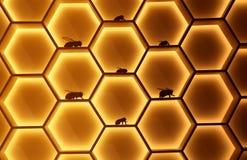 http för href för honungskakan för honeycells för honung för mat för dreamstime för com för beekeepingbin colldet10711 colldet107 stock illustrationer