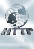 HTTP globe Royalty Free Stock Photography
