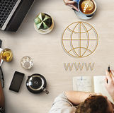 HTTP Homepage Internet Online Concept.  Stock Photo