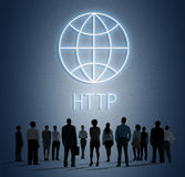 HTTP Homepage Internet Online Concept Stock Images