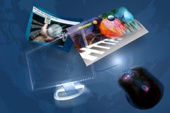 http-internet www Arkivbilder