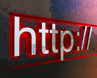 HTTP-Konzeptbild Lizenzfreie Stockbilder
