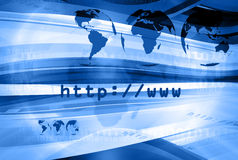 Http Layout 007. Graphical layout on http and www theme 007 stock photo