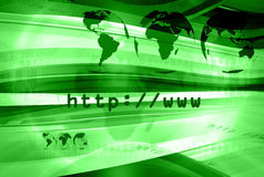 Http Layout 035. Graphical layout on http and www theme 035 royalty free illustration