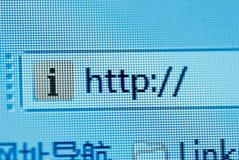 Http macro. Browsing bar text http macro stock images