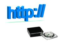 Http:// Navigation Stock Images