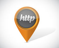 Http pointer icon illustration design Stock Photos