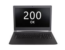 HTTP Status code - 200, OK Stock Photo