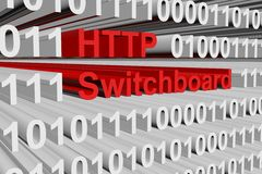 HTTP Switchboard Royalty Free Stock Image