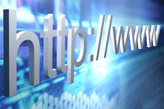 Http web page background Royalty Free Stock Photography