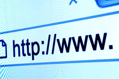 Http www browser bar Stock Photos