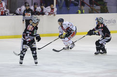 HTTP: /www.hockeymilano.it/main/ Immagine Stock