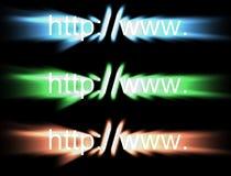HTTP: //www tekst royalty-vrije illustratie