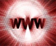 HTTP y WWW theme002 Foto de archivo