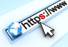 Https Immagine Stock