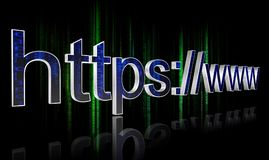 HTTPS concept Stock Photography
