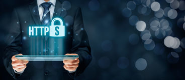 HTTPS concept Stock Images