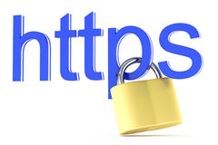 Https icon Royalty Free Stock Photo