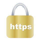 Https padlock Royalty Free Stock Images