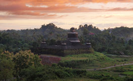 Htukkant-thein temple in Mrauk U, sub region of the Sittwe District, Rakhine State, Myanmar. Stock Photography