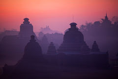 Htukkanthein Temple in Mrauk U, Myanmar Royalty Free Stock Photography
