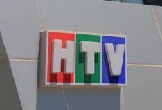 HTV Chi minh miasta telewizja Wietnam Ho Fotografia Stock