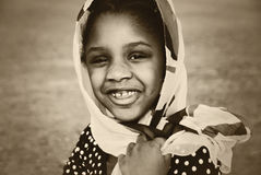 Huérfano haitiano Imagenes de archivo