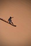 Huésped de la arena en Jericoacara fotos de archivo libres de regalías