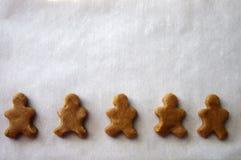 Huésped de los hombres de pan de jengibre Foto de archivo libre de regalías