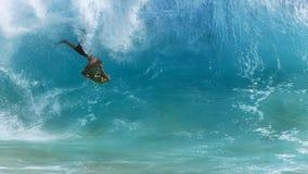 Huésped del cuerpo, playa de Sandy Hawaii Imagen de archivo libre de regalías