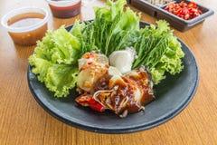 Huîtres épicées Photo libre de droits