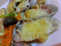 huîtres Photos stock