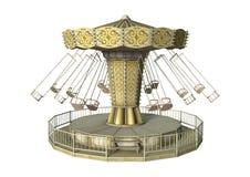 Huśtawkowa carousel przejażdżka Obrazy Stock