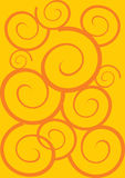 huśtawkowy żółty Zdjęcia Stock