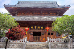 Hu Guo Chan Si. A Japanese Zen Buddhism Temple in Taipei Royalty Free Stock Photography