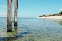 Huśtawka w oceanie - akcyjny wizerunek zdjęcia stock